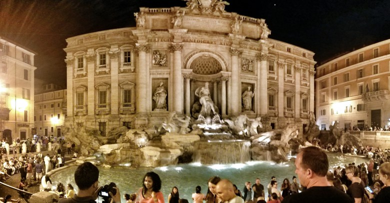 HER YER TREVI, HER YER PANTHEON ROMA  1.Gün